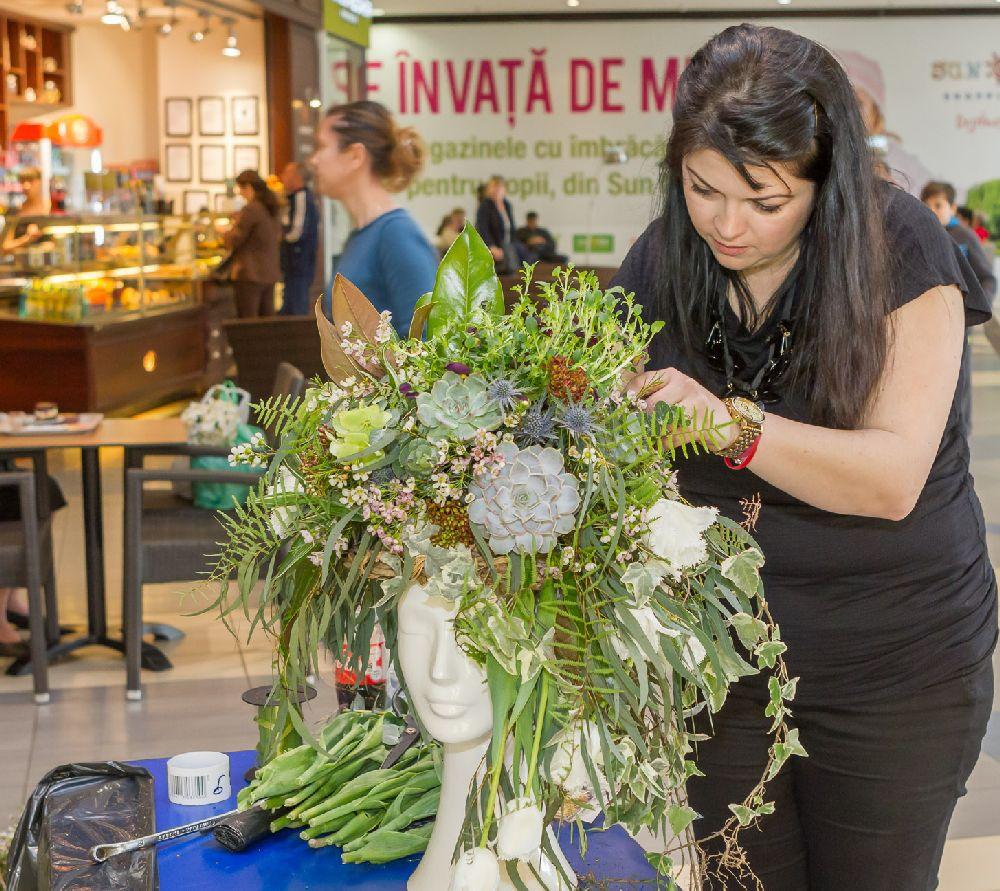 adelaparvu.com despre Floral Expo la Sun Plaza aprilie 2016, design floral Mihaela Gunta, The Wedding Company (14)