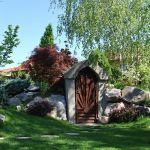 adelaparvu.com despre amenajare curte 120 mp si crama in gradina, Bucuresti, arhitect Dragos Isacescu (4)