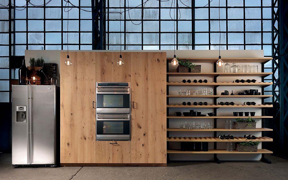 adelaparvu.com despre bucatarii in stil industrial, colectia Factory Aster Cucine (35)
