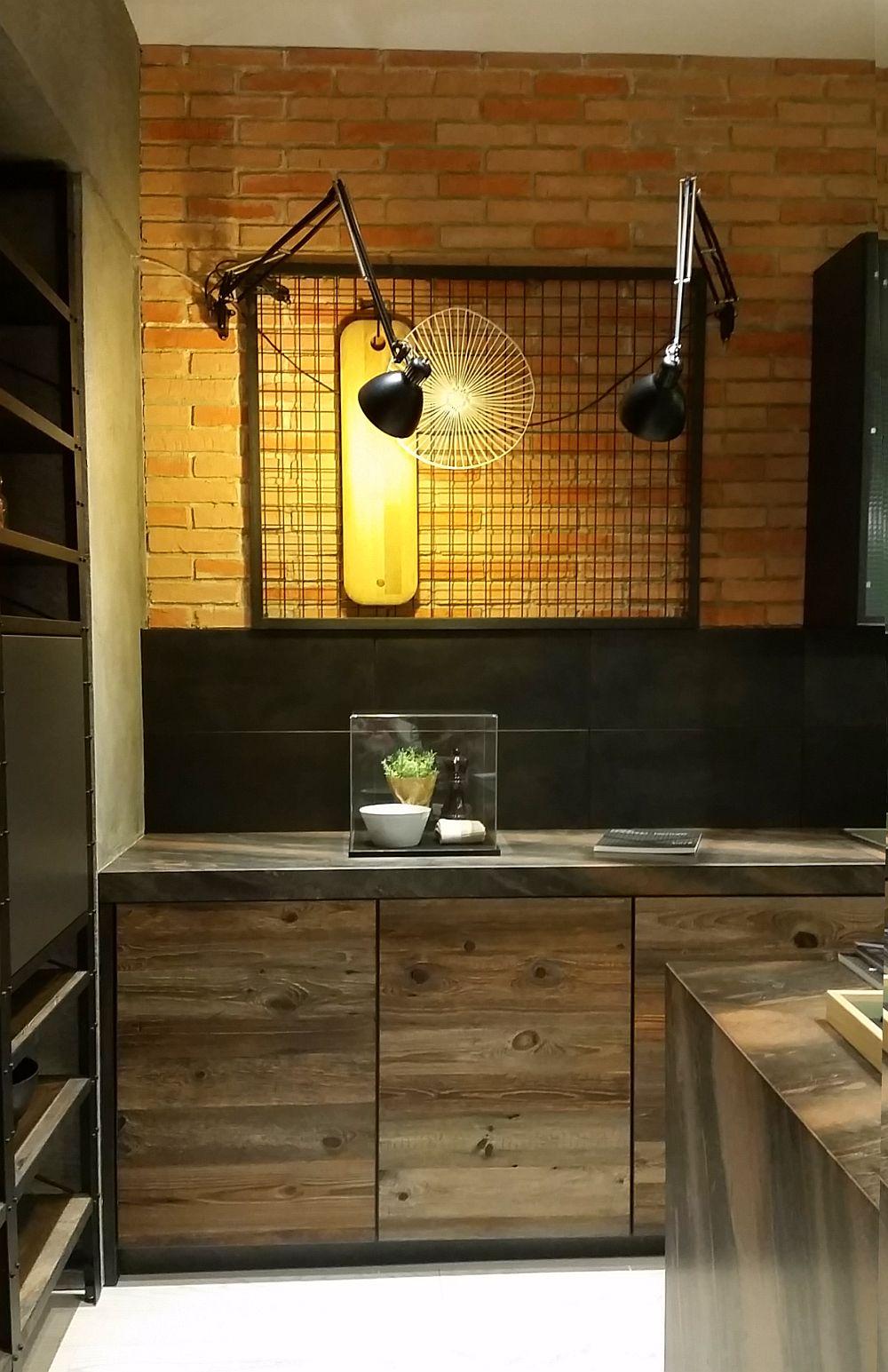 adelaparvu.com despre bucatarii in stil industrial, colectia Factory Aster Cucine (7)