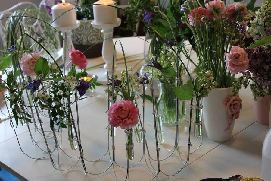 adelaparvu.com despre concurs floral Sun Plaza, florist Adina Filculescu, EnRose (1)