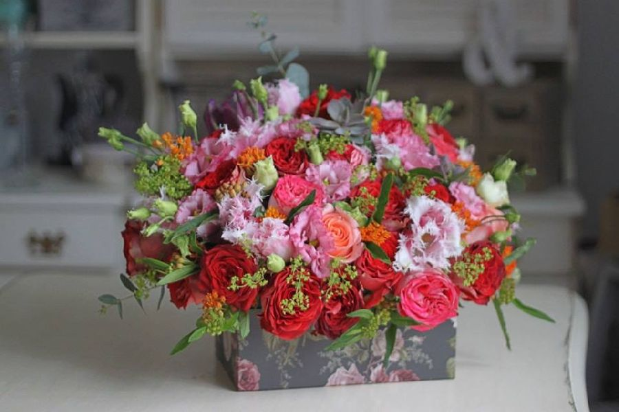 adelaparvu.com despre concurs floral Sun Plaza, florist Mihaela Gunta, The Wedding Company (3)