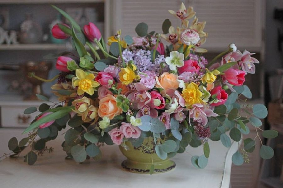 adelaparvu.com despre concurs floral Sun Plaza, florist Mihaela Gunta, The Wedding Company (6)