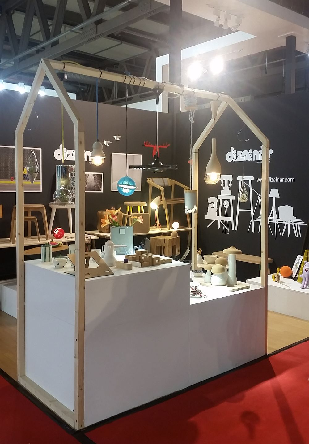 adelaparvu.com despre firme romanesti de mobila la Salone del Mobile Milano 2016, stand Dizainar (1)
