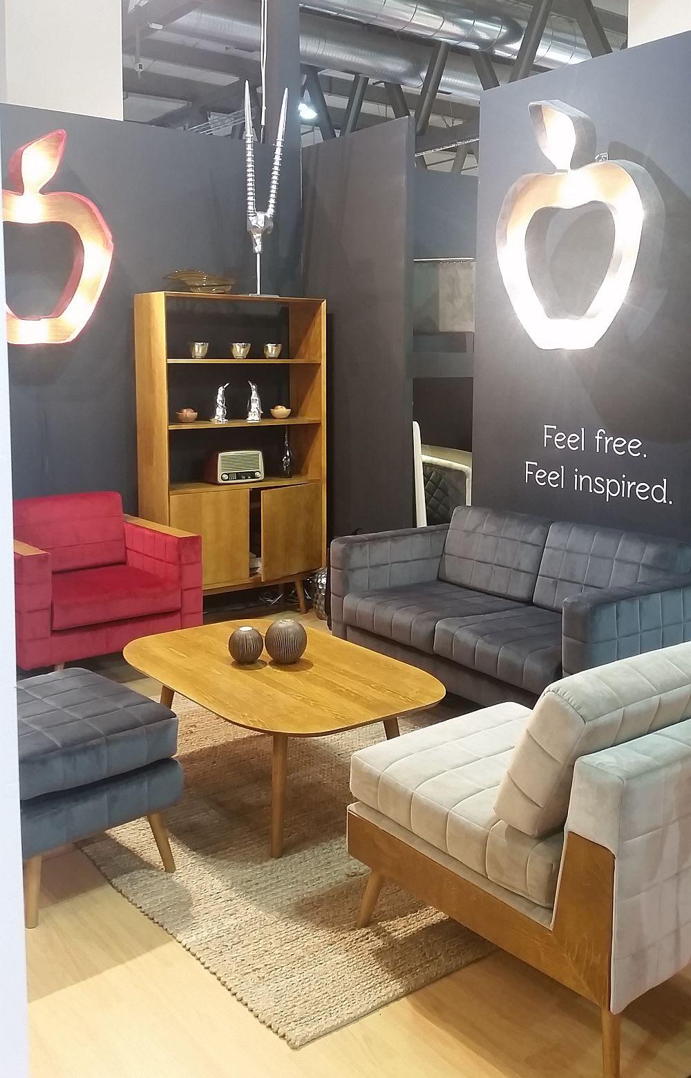 adelaparvu.com despre firme romanesti de mobila la Salone del Mobile Milano 2016, stand Quadra Furniture (4)
