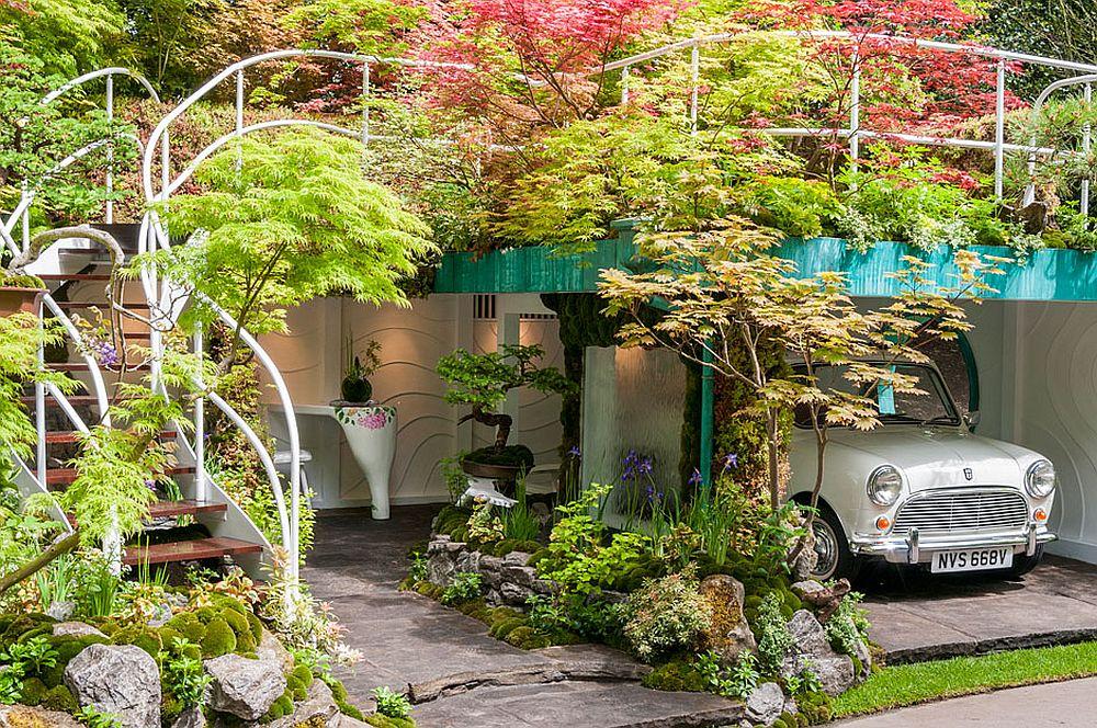 adelaparvu.com despre Garage Garden, Senri Sensei Garden, peisagist Kazuyuki Ishihara (5)
