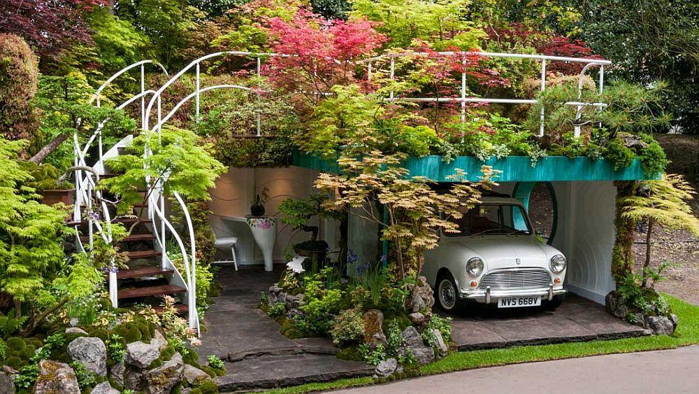 adelaparvu.com despre Garage Garden, Senri Sensei Garden, peisagist Kazuyuki Ishihara (6)