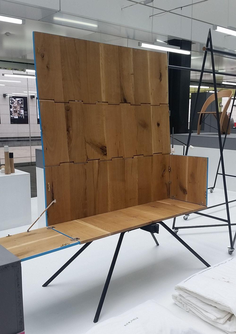adelaparvu.com despre Romanian Design Week 2016, Lada de zestre, designeri Ciprian Manda si Anda Botezatu, Delta Craft Project