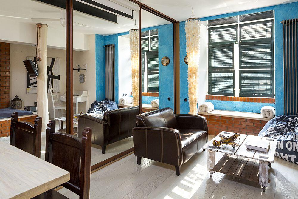 adelaparvu.com despre locuinta creativa Moscova, 82 mp, design lenka.design, designer Elena Fateeva (11)