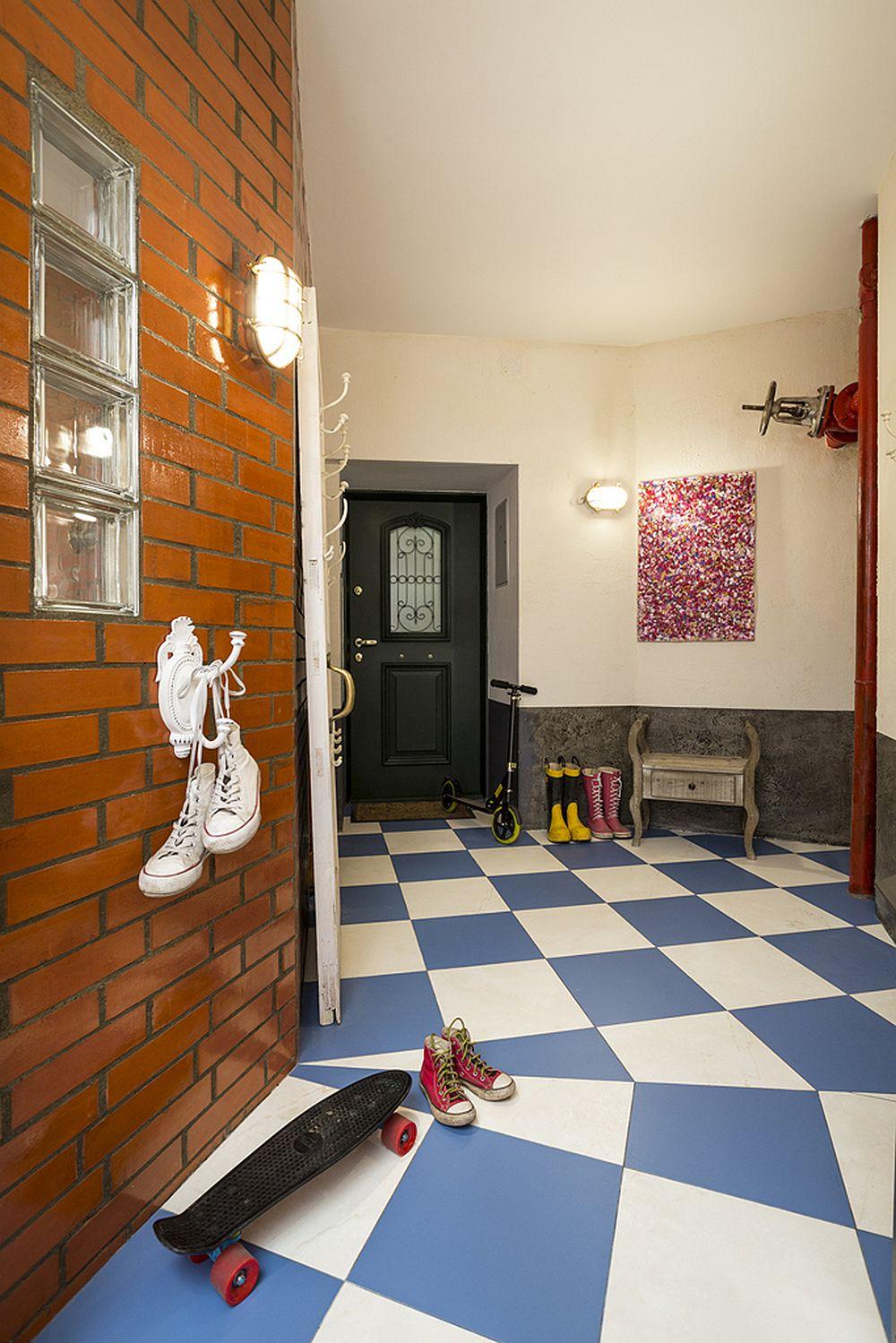 adelaparvu.com despre locuinta creativa Moscova, 82 mp, design lenka.design, designer Elena Fateeva (23)