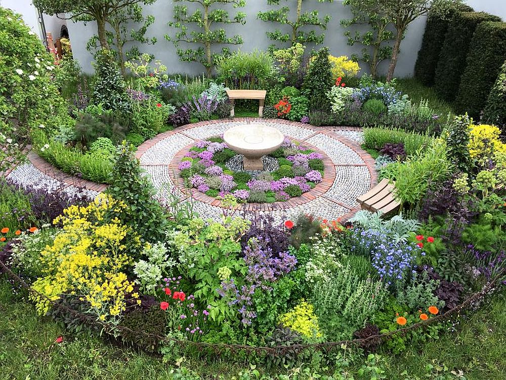 adelaparvu.com despre gradina cu plante medicinale, designer Jekka McVicar, A Modern Apothecary Garden, RHS Chelsea Flower Show 2016 (1)