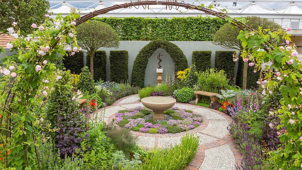 adelaparvu.com despre gradina cu plante medicinale, designer Jekka McVicar, A Modern Apothecary Garden, RHS Chelsea Flower Show 2016 (16)