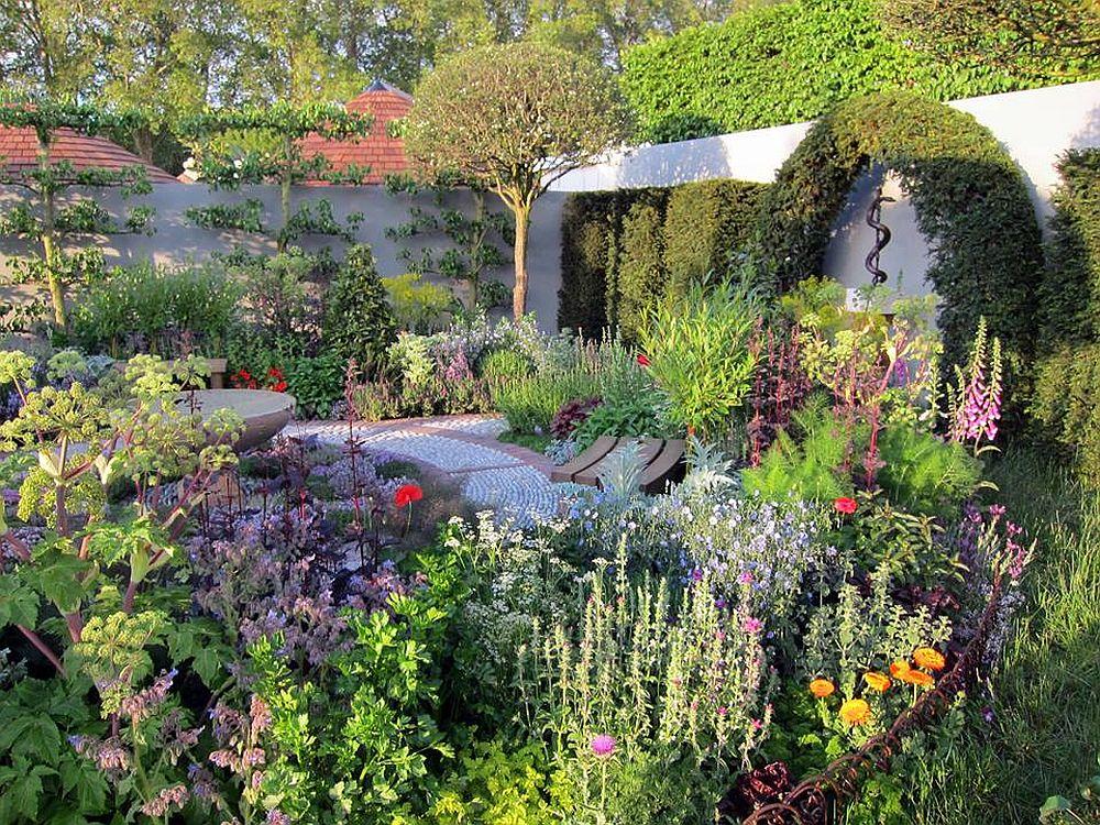 adelaparvu.com despre gradina cu plante medicinale, designer Jekka McVicar, A Modern Apothecary Garden, RHS Chelsea Flower Show 2016 (2)