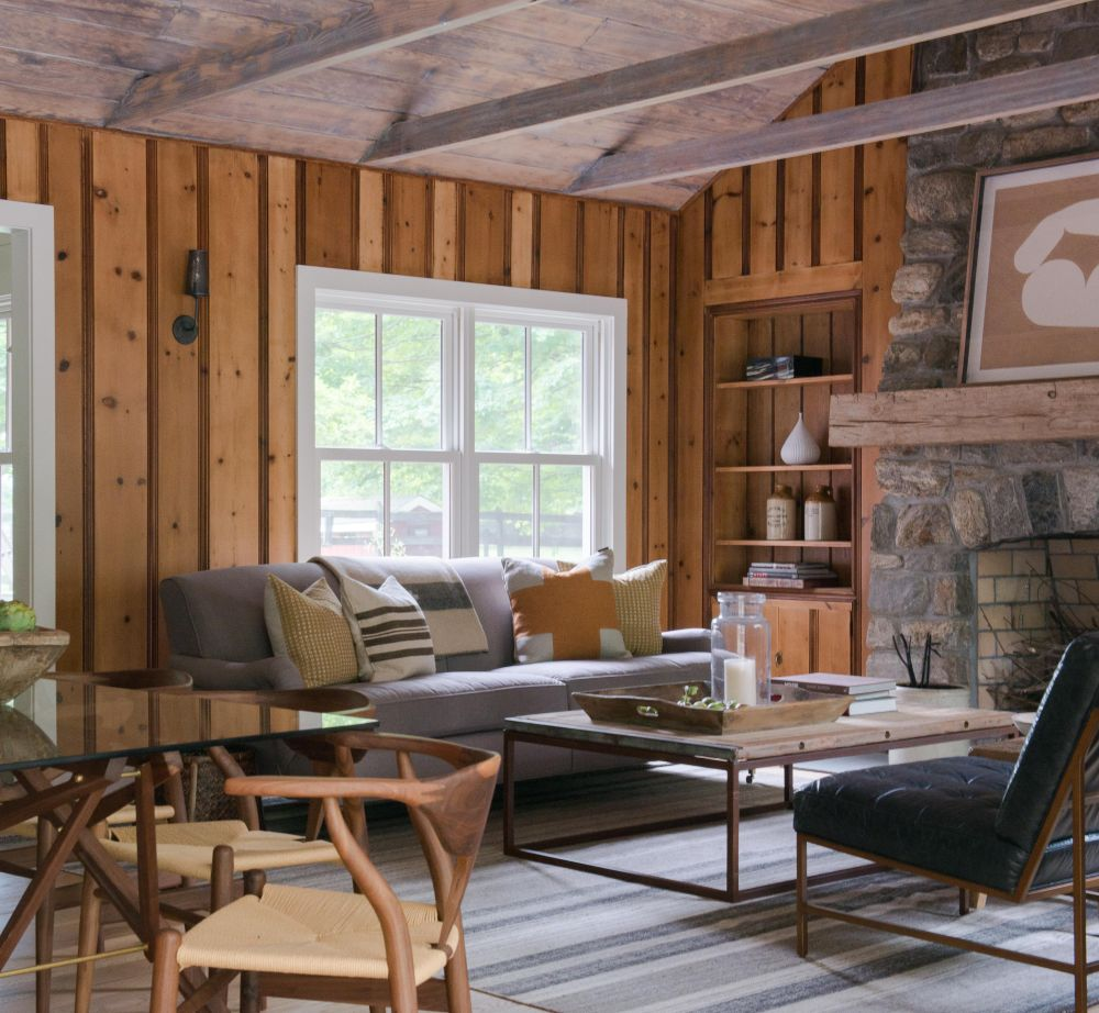 adelaparvu.com despre casa din lemn cu interior rustic actual, Design Kelly Mittleman, arch Mark Finlay, Foto Jane Beiles (20)