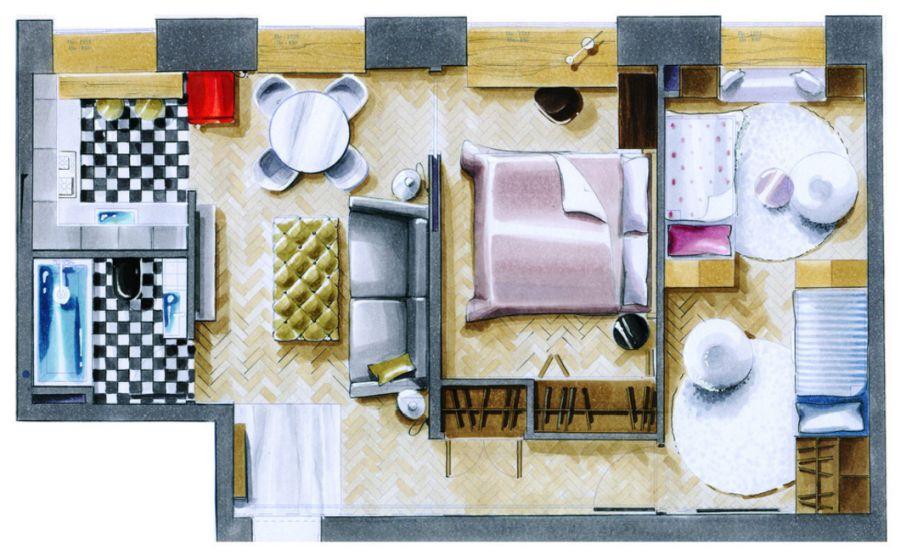 adelaparvu-com-despre-reoganizarea-unui-apartament-de-2-camere-in-3-camere-54-mp-designer-masha-kunyakina-foto-olga-melekesceva-21
