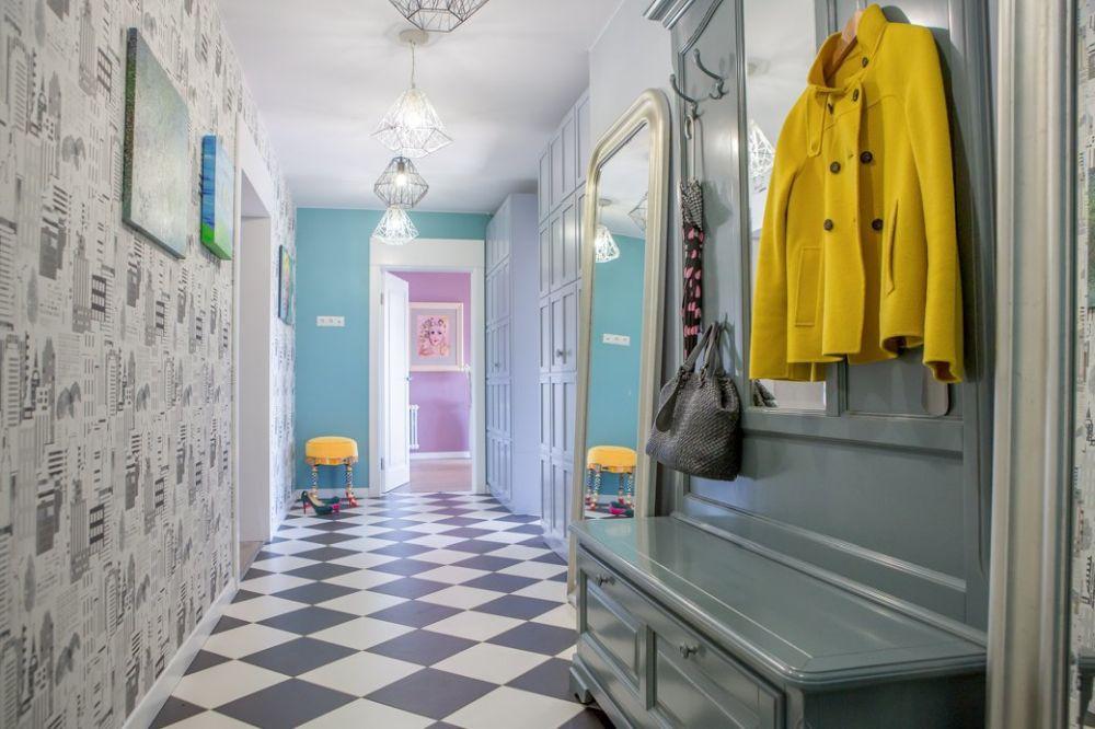 adelaparvu.com despre apartament 104 mp, 4 camere, Moscova, designer Maria Solovieva-Sosnowik, Foto Anna Kiseleva (35)