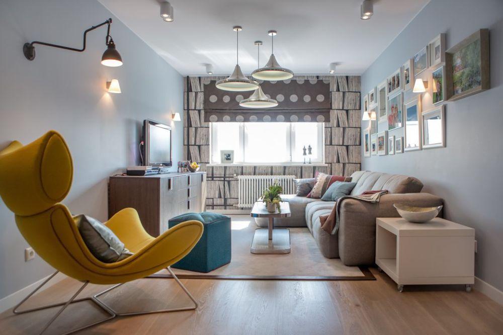 adelaparvu.com despre apartament 104 mp, 4 camere, Moscova, designer Maria Solovieva-Sosnowik, Foto Anna Kiseleva (5)