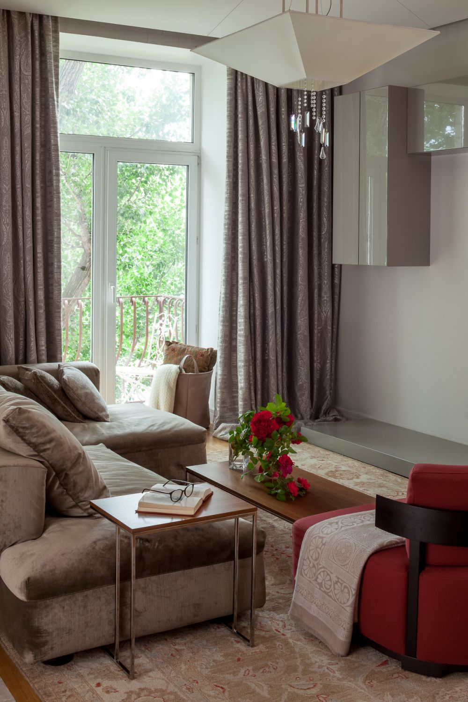adelaparvu.com despre apartament de 3 camere, 82 mp, Moscova, Designer Xenia Turik (1)