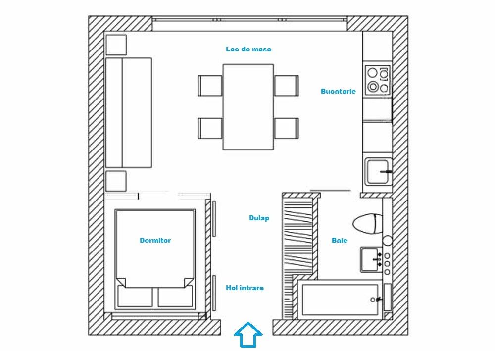 adelaparvu.com despre studio 33 mp, Moscova, design Enjoy Home Studio (1)