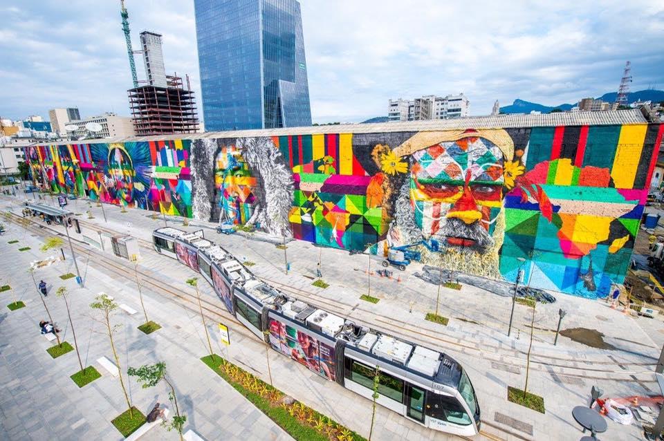 adelaparvu.com despre Eduardo Kobra artistul graffiti al oraselor, murala Indigenous (5)
