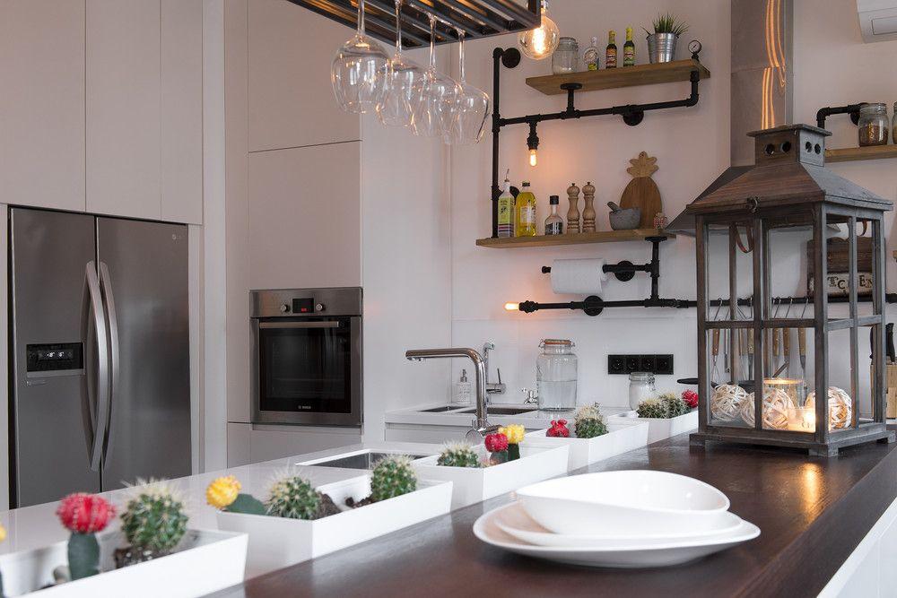adelaparvu.com despre apartament in stil industrial, Moscova, designer Yevgeniya Razuvayeva, 9design, Foto Dean Alexandrov (14)