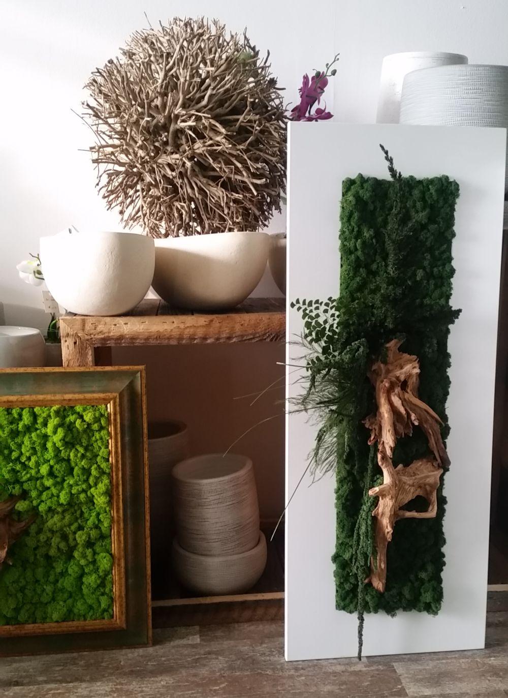 adelaparvu.com despre tablouri cu plante stabilizate, design Arta Gradinilor, Bucuresti (13)