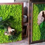 adelaparvu.com despre tablouri cu plante stabilizate, design Arta Gradinilor, Bucuresti (9)