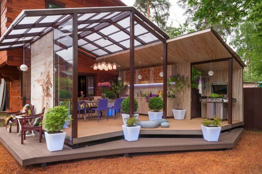 adelaparvu.com despre terasa cu bucatarie de vara,40 mp, Malakhovka, Rusia, Design Roman Belyanin si Alexei Zhbankov (13)