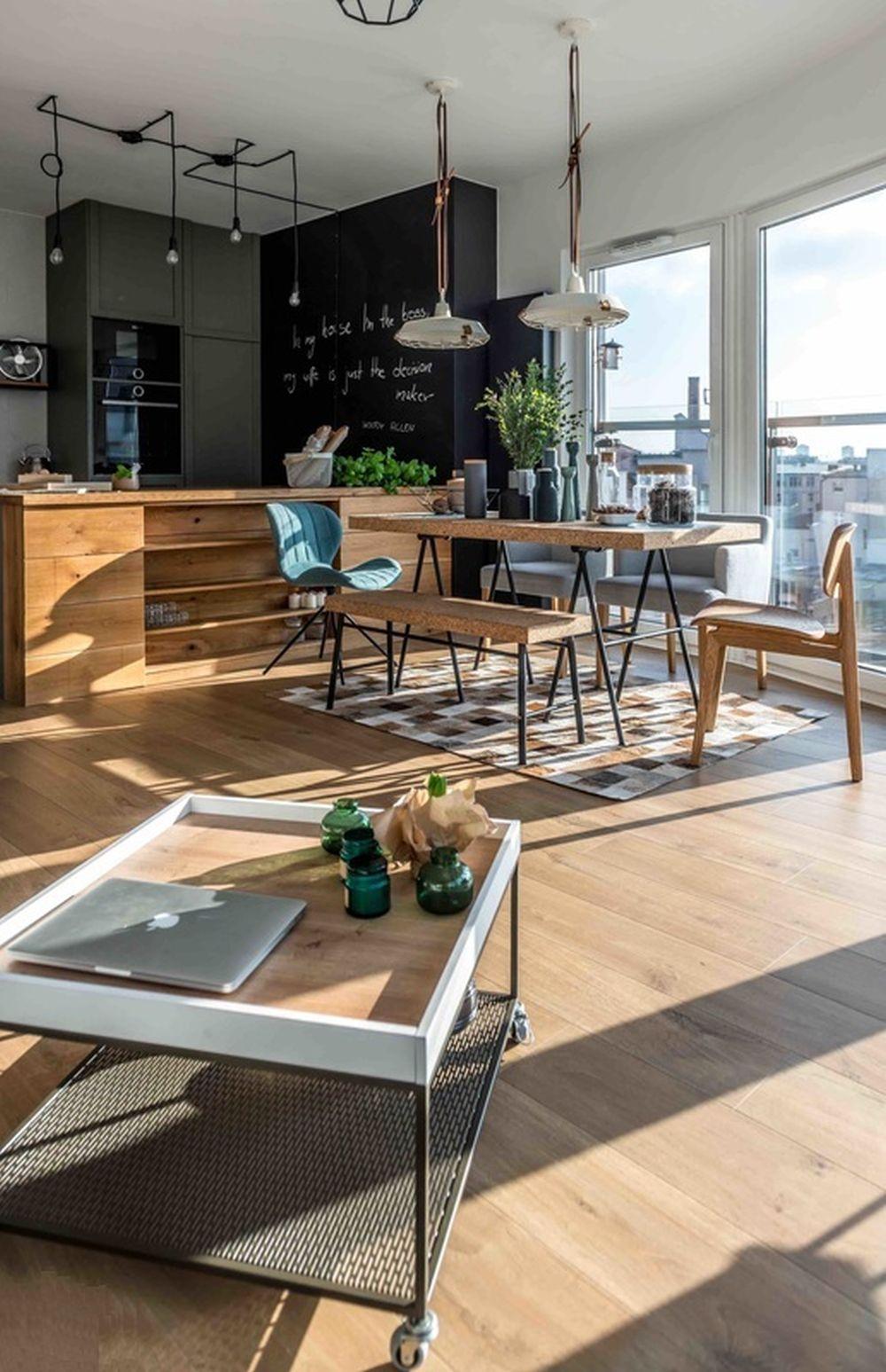 adelaparvu.com despre apartament de 2 camere in stil scandinav, Polonia, Design Shoko Studio (7)