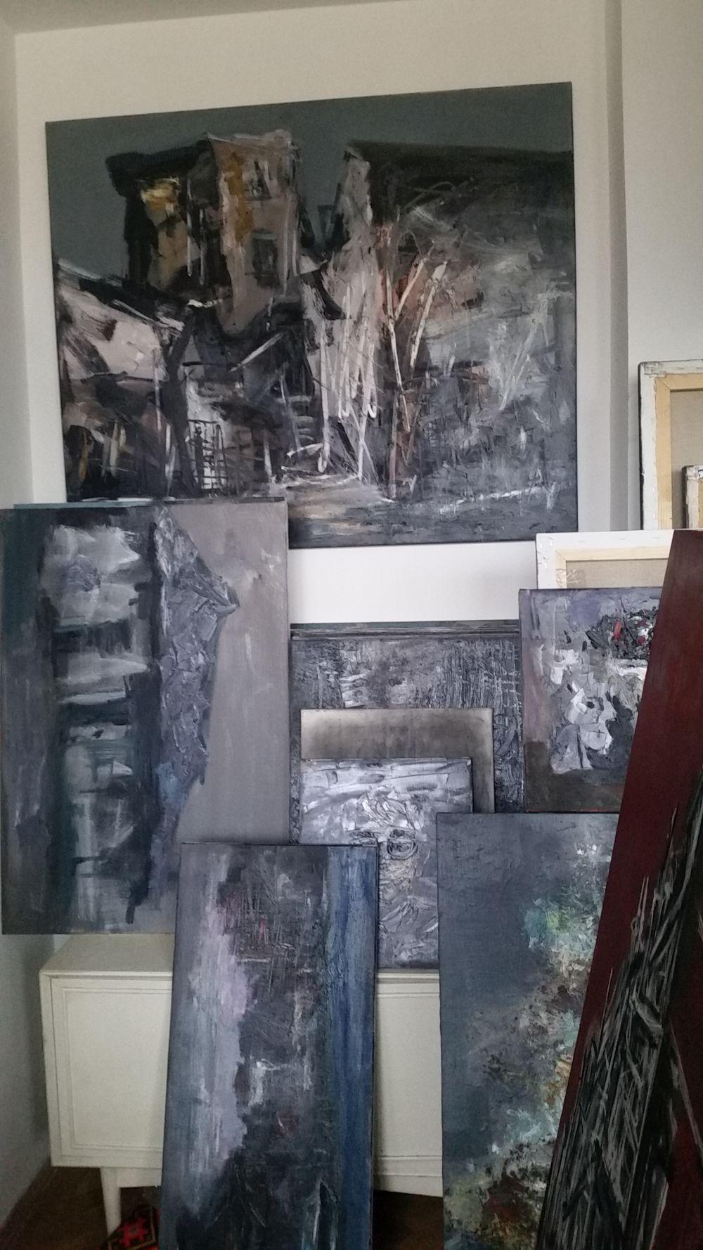 adelaparvu.com despre atelierul pictorului Eugen Raportoru, test SeeColors Samsung (12)