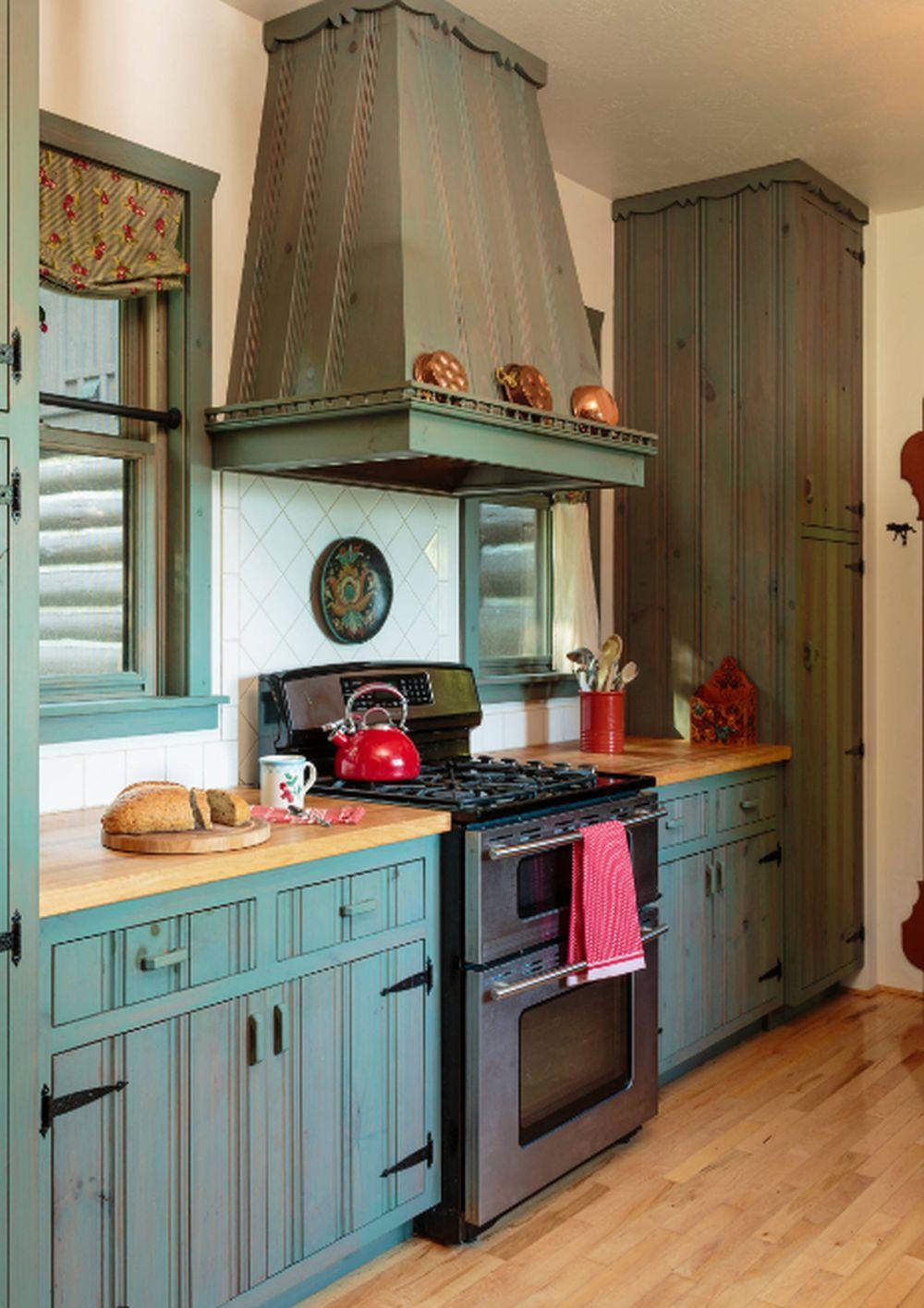 adelaparvu.com despre cabana rustica cu picturi scandinave, design Virge Temme Architecture, Foto Mark Lohmann (10)