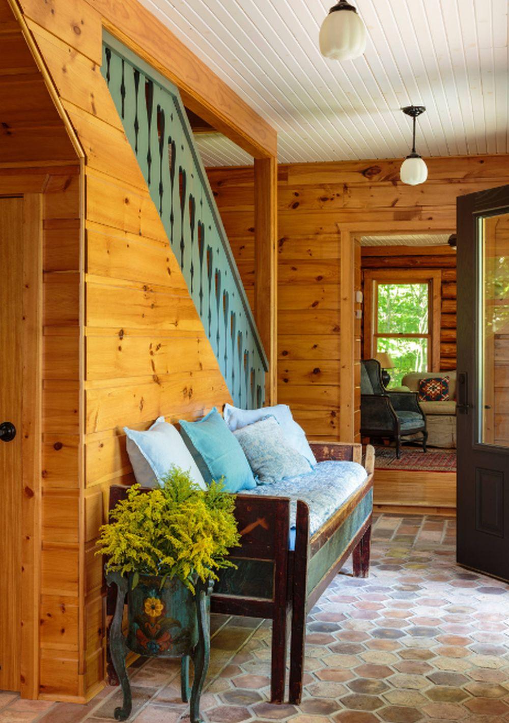 adelaparvu.com despre cabana rustica cu picturi scandinave, design Virge Temme Architecture, Foto Mark Lohmann (7)