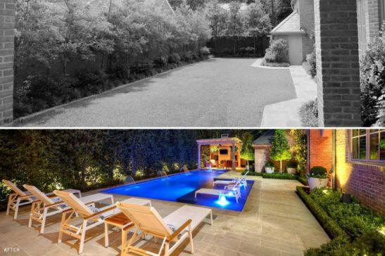 Cum transformi curtea intr o gradina vezi 17 exemple for Amenajari piscine