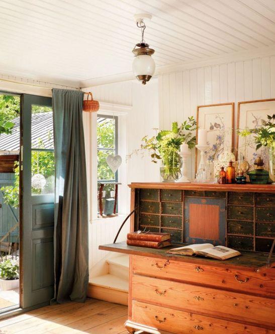 adelaparvu.com despre casa in stil rustic suedez designer Lorenza Meazza foto El Mueble (2)
