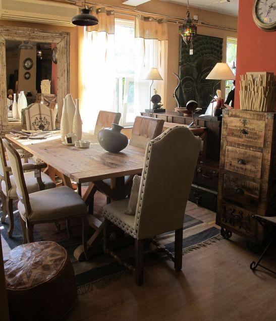 Mobilier din lemn masiv pentru sufragerie