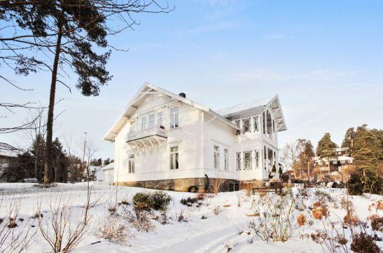 adelaparvu.com despre interior elegant chalet elvetian designer  Anne Cecilie Ranke (1)