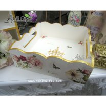 tray joy ivory gold