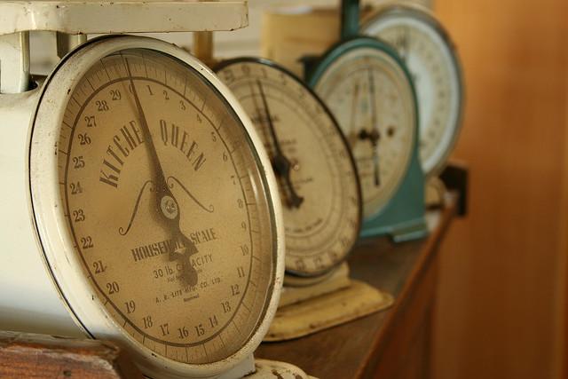 vintage kitchen scales Marcus Jeffrey