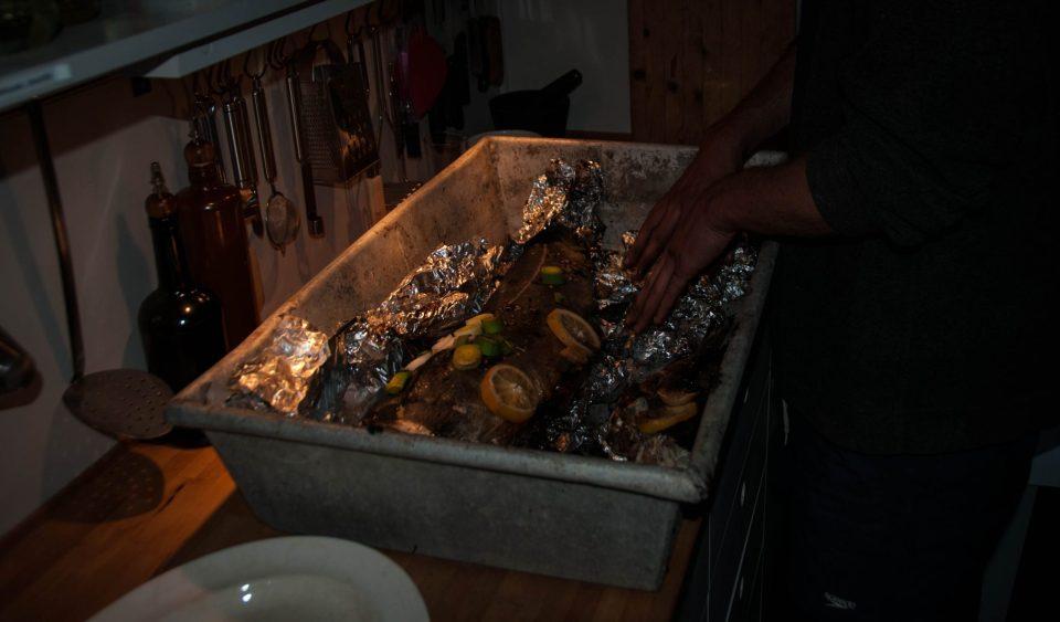 la pescuit in Arctic, masa