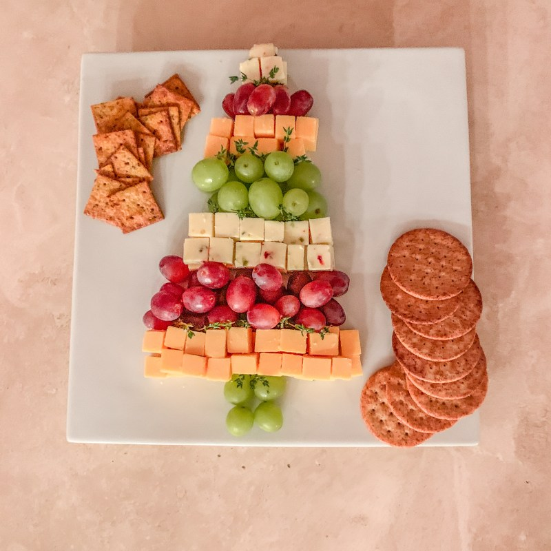 Christmas Cheese Charcuterie