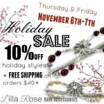 Lilla Rose Sale November 2014