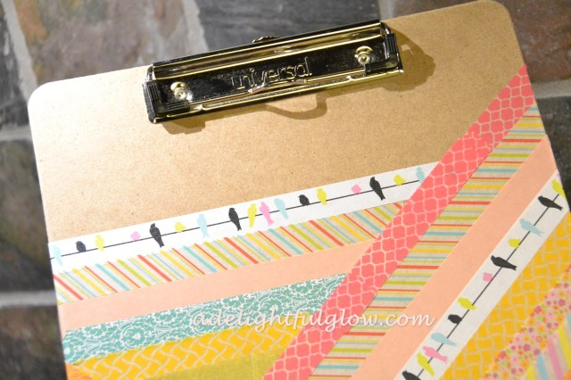 Washi Tape Clipboard