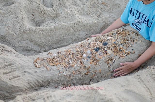 renae and becca make a mermaid-6