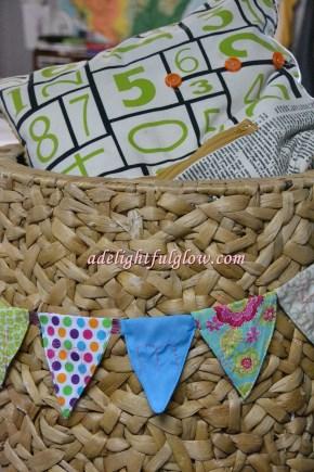 Fabric Pennant Banner