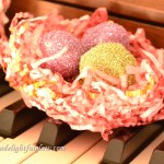 Shredded Paper Nests Craft