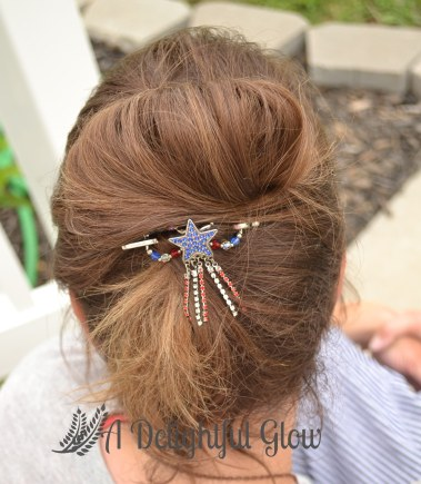 Patriotic Star Dangle Flexi