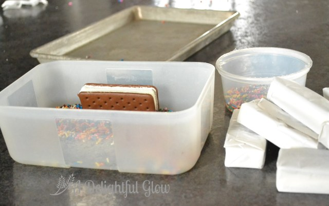 Ice Cream Sandwiches with Sprinkles (6)