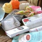 Yarn Along {New Books}