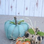 Burlap Pumpkin From The Little Green Bean Giveaway