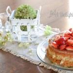 Gluten Free Almond Cake With Strawberries